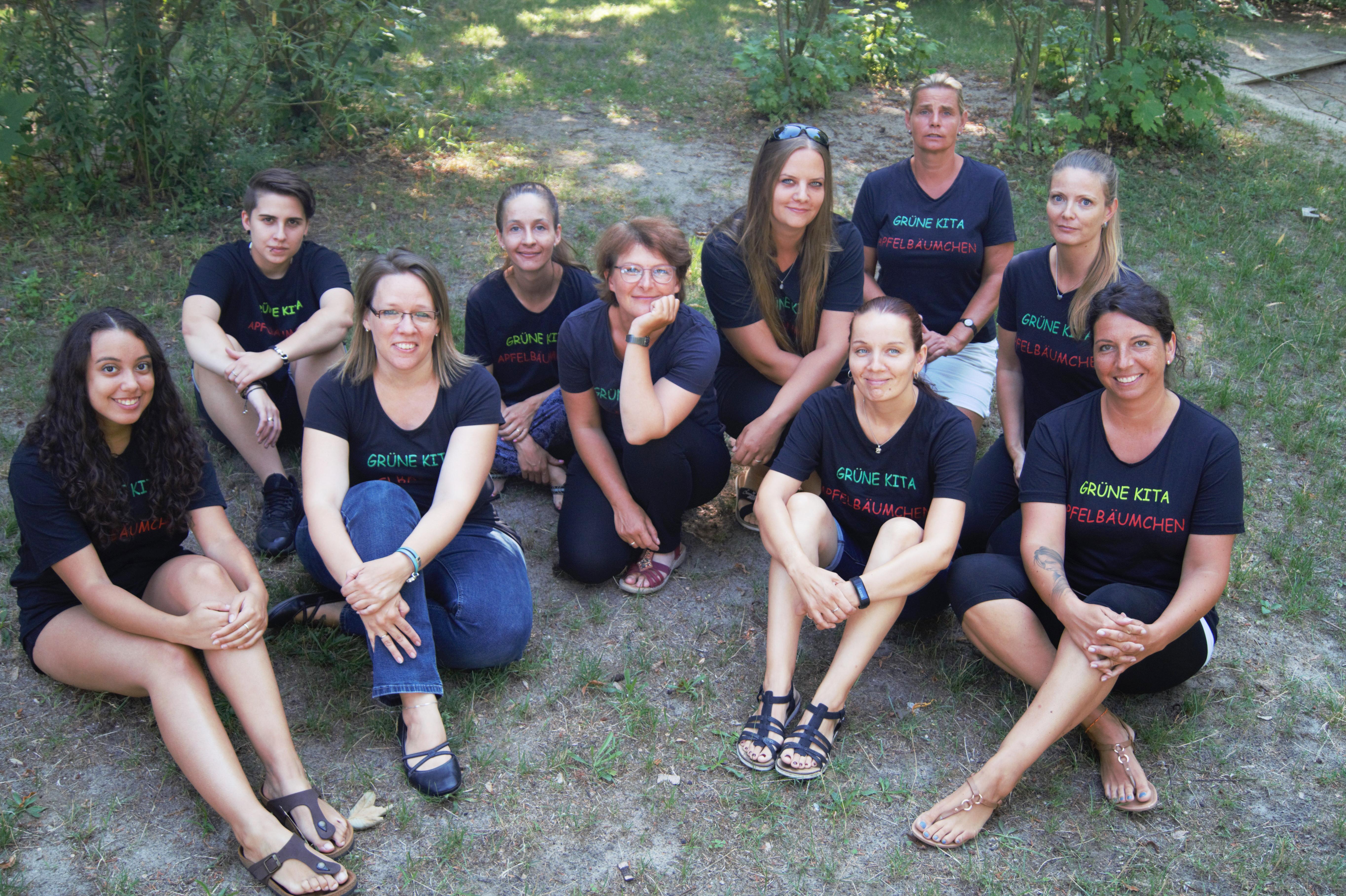 Team Kita Apfelbäumchen